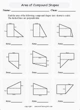 find  perimeter  area  compound shapes  drawn
