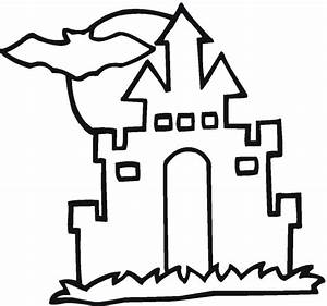 Hauntedhouse coloring pages