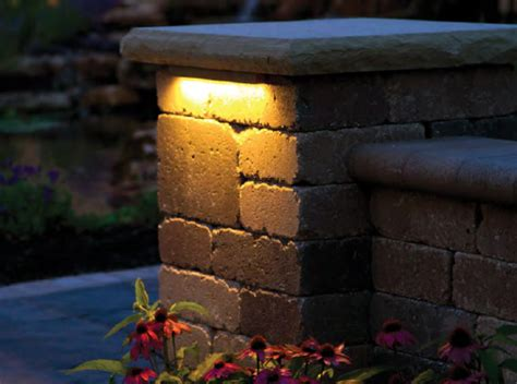 Block Wall Landscape Lighting Hardscape Lights Valspar Tropical Oasis Spray Paint Pink Caliper Pump How To Kitchen Cabinets Painting Materials The Best Gold Metallic Silver Plastidip