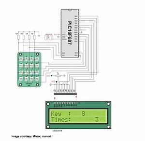 Pic 4x4 Keypad Interfacing Tutorial
