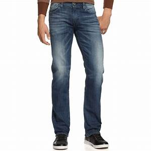 Lyst - Guess Falcon Retribution Bootcut Jeans in Blue for Men