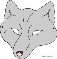 wolf vorlagen kostenlos wolfsmaske kinder spielideen tiermasken basteln tiermasken und wolf maske
