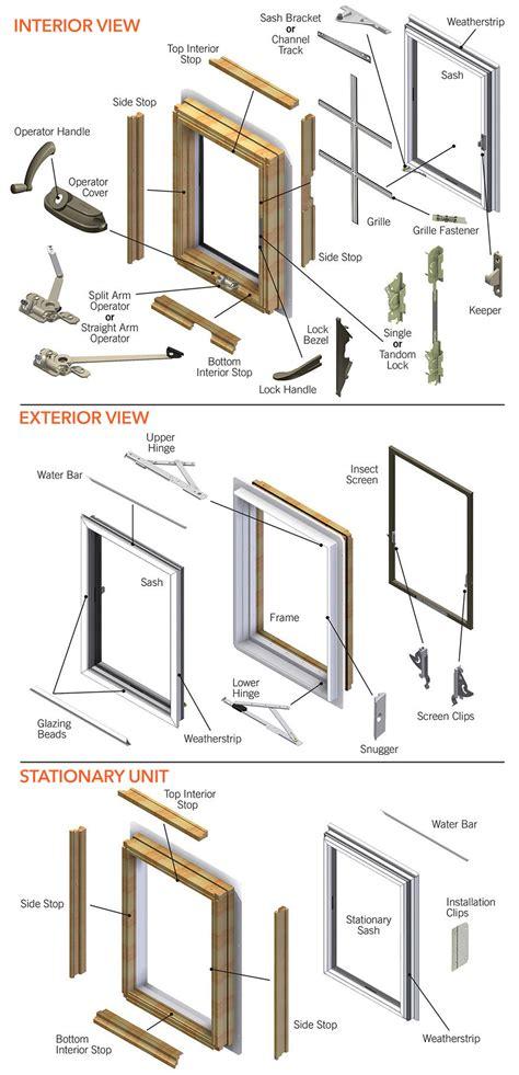 perma shield casement   present parts diagram