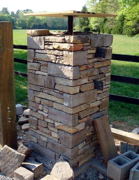25+ Best Ideas About Stone Columns On Pinterest Porch
