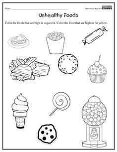 go grow glow food worksheets for kindergarten kidz