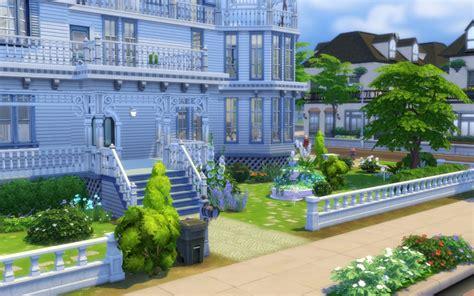 sims  house maison victorienne victorian building