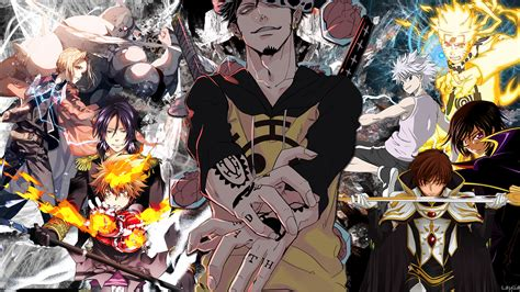 Anime Crossover Wallpaper Hd - crossover hd wallpaper and background image