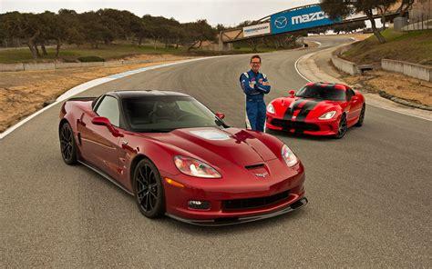 Corvette Zr1 Vs by Corvette Zr1 Vs Viper Gts Mazda Raceway Laguna Seca
