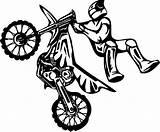 Dirt Coloring Bike Motocross Moto Dessin Cross Coloriage Colorear Transport Dibujos Drawing Colorier Transporte Coloriages Ko sketch template