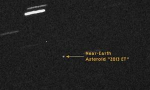 Asteroid the size of a football pitch, only discovered ...