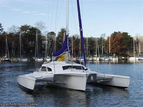 Trimaran Boat For Sale by Used Telstar Trimaran Boats For Sale Boats