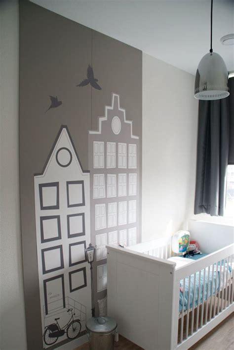 behang babykamer huisjes 25 beste idee 235 n over jongens behang op pinterest