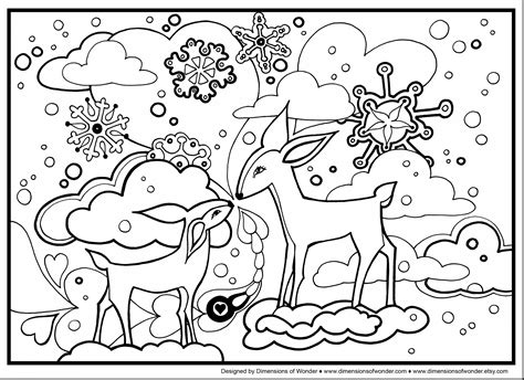 Snow Landscape Drawing At Free For