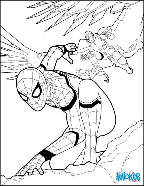 spiderman coloring page    spiderman