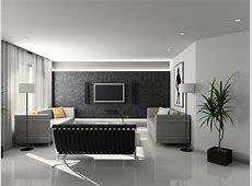 现代简约客厅电视背景墙壁纸图片_土巴兔装修效果图