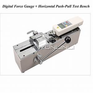 Hph Push Pull Force Meter Manual Horizontal Test Machine