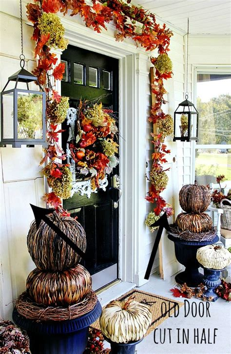 inexpensive fall decorating ideas budget friendly front porch fall decor ideas thistlewood