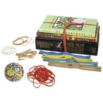 desk supplies rubber bands