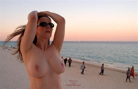 Topless On Beach May Voyeur Web Hall Of Fame