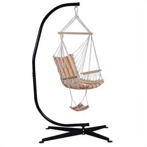 Free Standing Hammock Chair by Steel C Frame Porch Hammock Swing Chair Stand Free