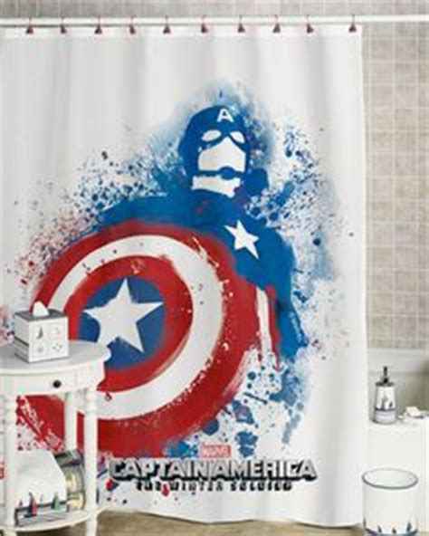 captain america curtains captain america shower curtain bathroom decor bathroom