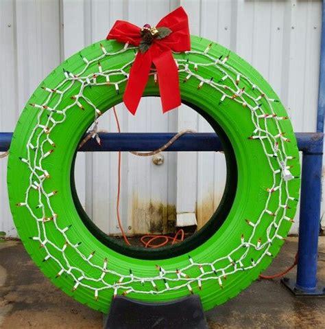 jeep christmas wreath christmas tire wreath christmas pinterest door