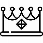 Icon Crown Queen Text Icons King Shapes