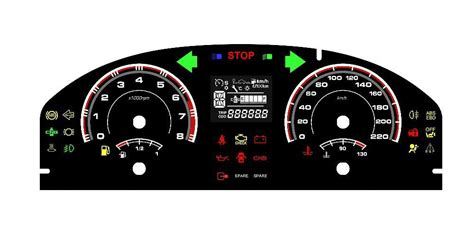 Digital Dashboard Cars by Digital Dashboard For Race Cars Dashboard Meter