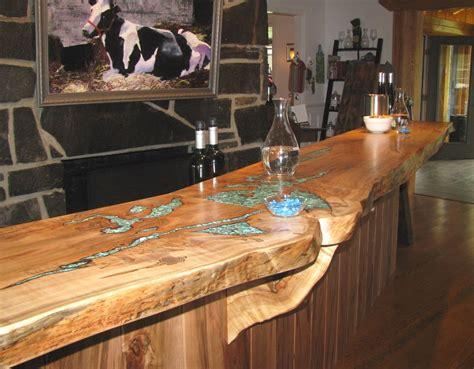 table cuisine bois brut handmade mcritchie 39 s wine bar by haymore enterprises inc custommade com