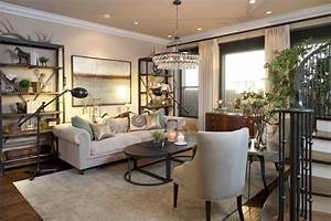 Vibrant, Transitional, Family, Home, Living, Room, Robeson