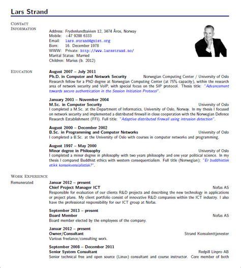 latex resume templates    premium