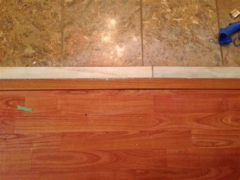 laminate  tile  tile  transition