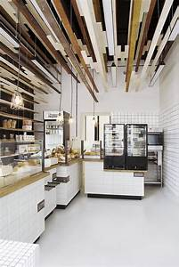 Inviting Bakery Design in Warsaw Exhibiting an Eye