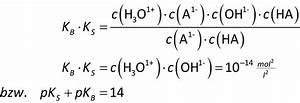 Chemie Mol Berechnen : 4 2 basest rke der pkb wert ~ Themetempest.com Abrechnung