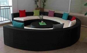 Canape rond design en quelques idees tendance for Formation decorateur interieur avec canapé design rond