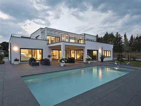 Fertighaeuser Im Bauhaus Stil by Luxusvilla Im Bauhaus Stil Weberhaus Musterhaus Net
