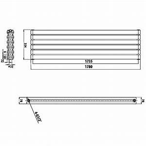 Heizkörper Berechnen : hudson reed heizk rper revive 1847 watt 354 mm x 1780 mm horizontale design heizung aus ~ Themetempest.com Abrechnung