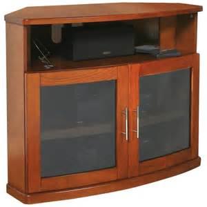 Flat Screen TV Cabinet - Black Oak