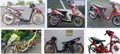 Modifikasi Mio Raching Keren by Modifikasi Yamaha Mio Gt Soul Sporty J Drag Ceper Velg 17