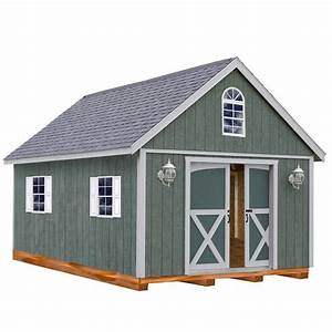 best barns belmont 12 ft x 24 ft wood storage shed kit With 16x16 shed kit