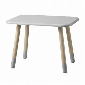 Table Enfant Scandinave : table enfant gris clair bloomingville pour chambre enfant les enfants du design ~ Teatrodelosmanantiales.com Idées de Décoration