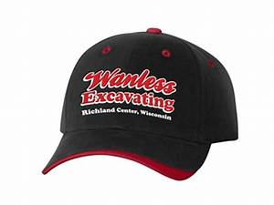 Custom Embroidered Hats - Wanless Excavating | Iverson Designs