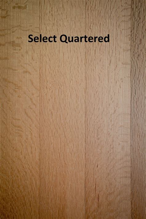 Unfinished Solid Red Oak R&Q, Rift Only, Quartered Only X