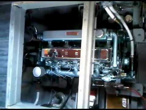 starting thornycroft  marine engine youtube