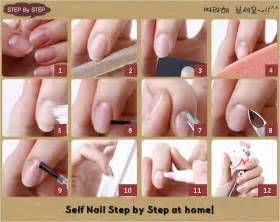 Sara nail care at home tips self step by