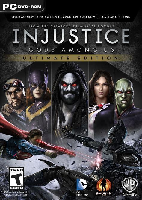 injustice gods among us cover injustice gods among us ultimate edition anunciado para