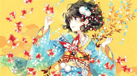 Kimono Anime Wallpaper - kimono anime 4k wallpapers hd wallpapers id 18627