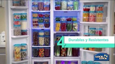 envases  la organizacion de su refrigerador interlock