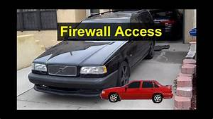 Firewall Pass Through Access For Cabin To Engine Bay