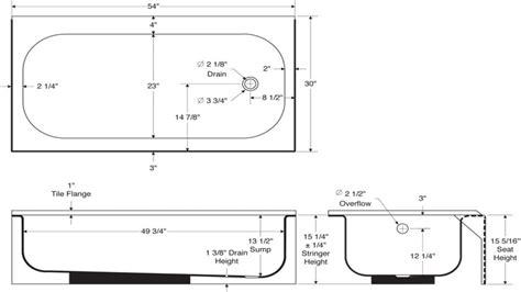 width of tub standard bath tub standard tub dimensions size tub